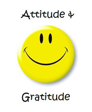 Attitude Gratitude Smiley
