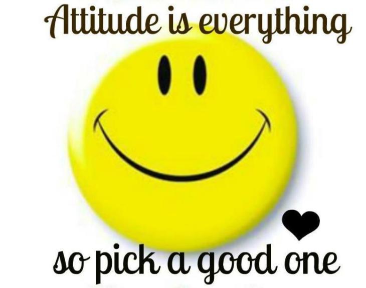 Attitude smiley