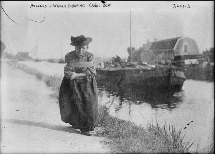Canal woman