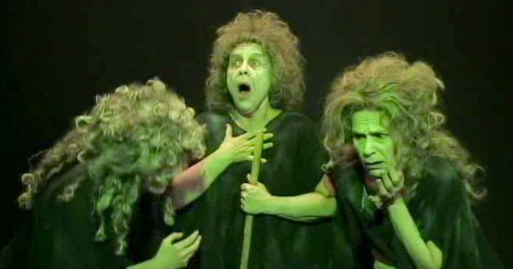 Witches Grinch style