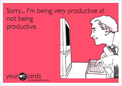 Being Productive