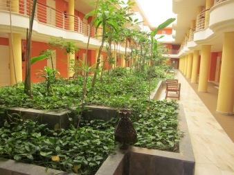 Hotel indoor garden