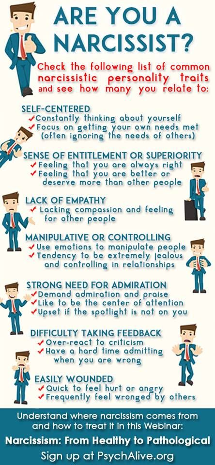 dealing with narcissistic people