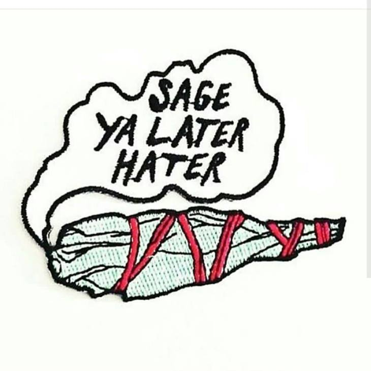 Sage you later hater
