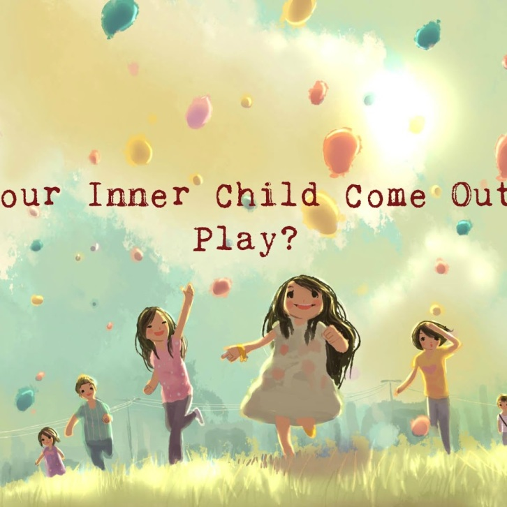 Inner Child - children playing image