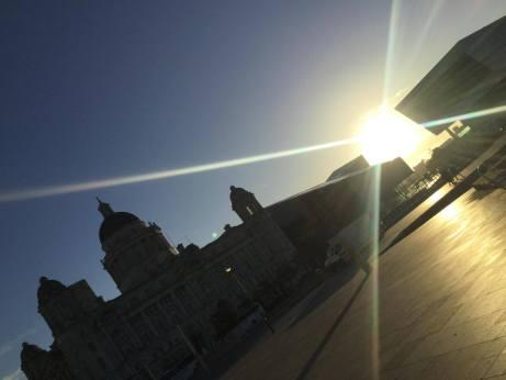 Liverpool - sunrise - Donna