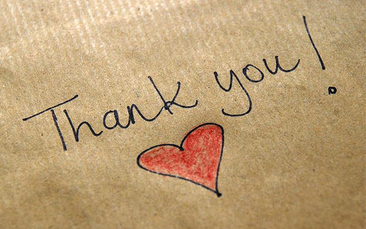 Thank you heart