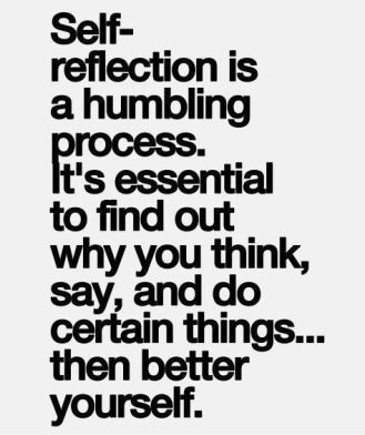 Self- reflection 2