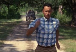 Forrest Gum running