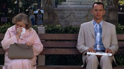 Forrest Gump with chocolates