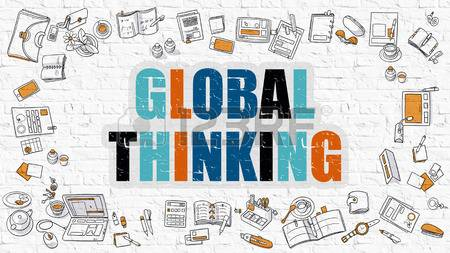 Global thinking image