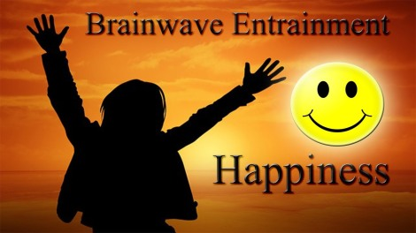 Meditation brainwave happiness