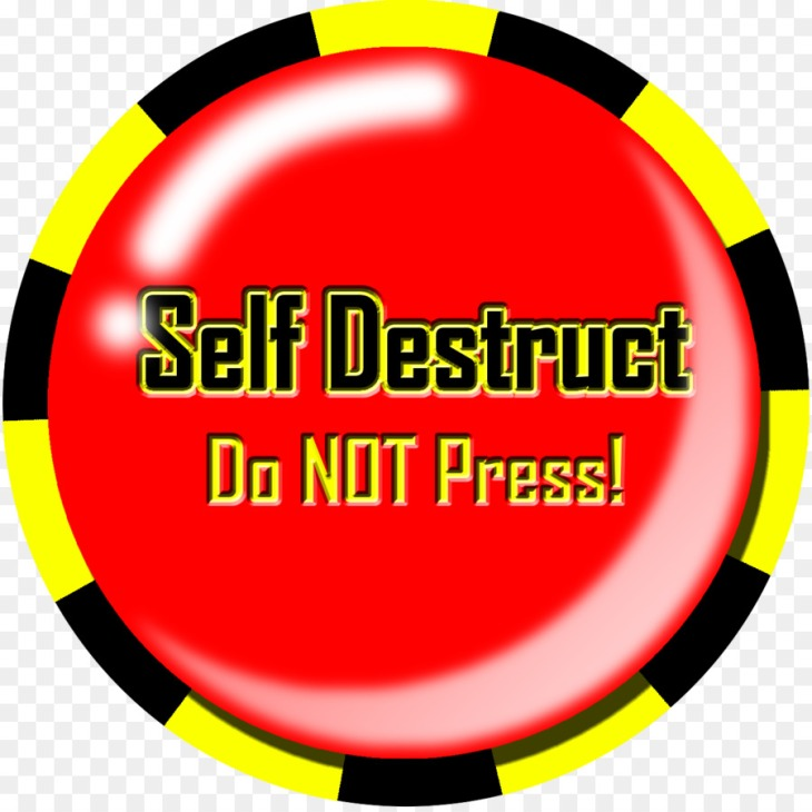 selfdestruct Do not press